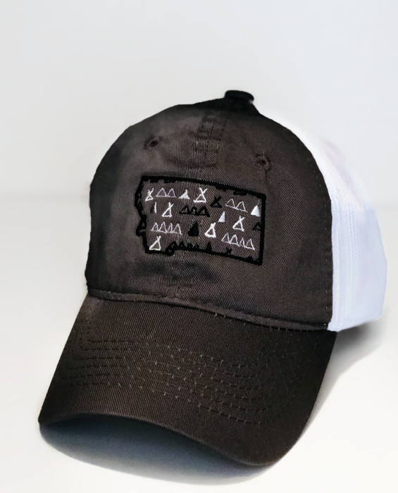 MT Brand Apparel - Montana Mountains & Tree Youth Hat