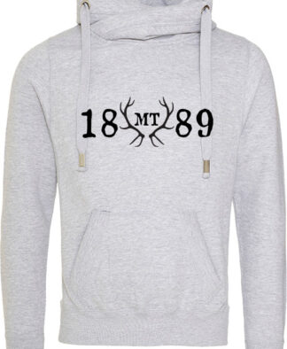 Crossover Neck Hoodie