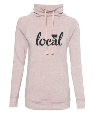 Ladies Cowl Fleece Pullover ( No Hood)