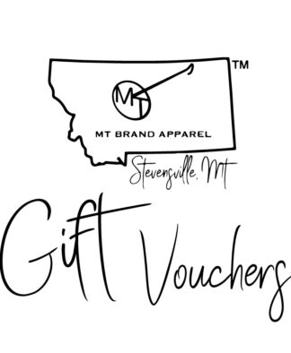 NEW - Gift Vouchers for MT Brand Apparel